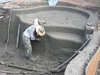 27. Отработка конфигурации чаши бассейна с учетом толщины защитного слоя армокаркаса