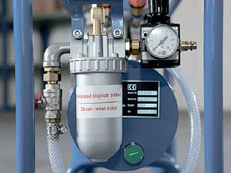 Регулятор давления с манометром и защитой от замерзания